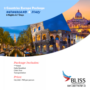 2 Countries Europe Package