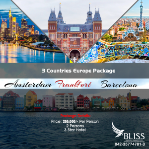 3 Countries Europe Package