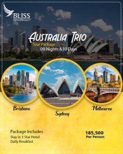 Australia Trio Tour Package
