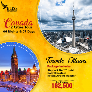 Canada 2 Cities Tour Package
