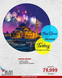 Turkey New Year Package