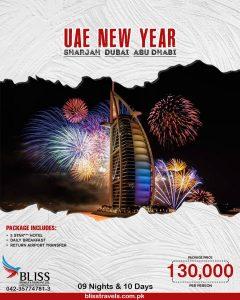 UAE New Year Package