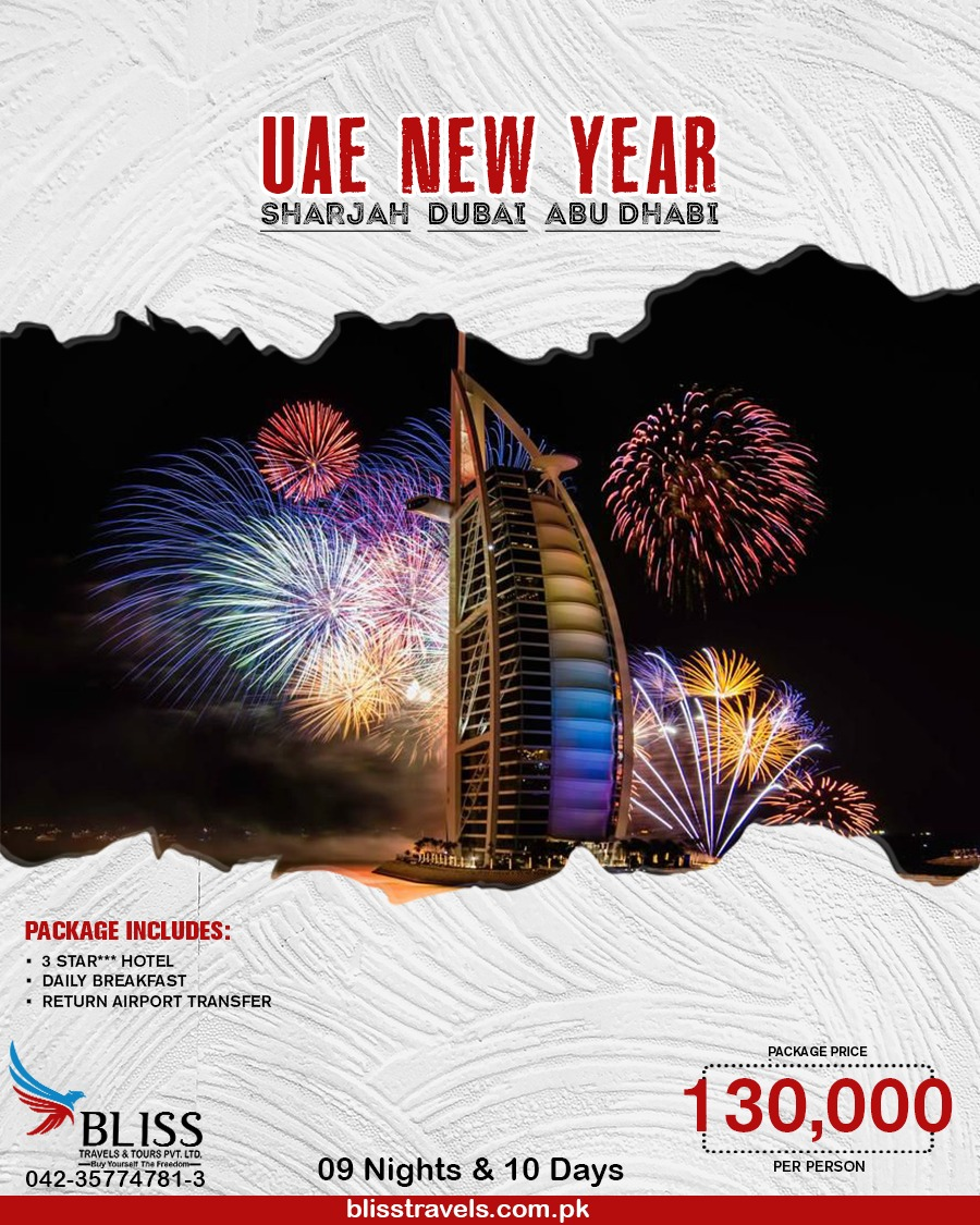 New Year Eve Travel, Tour & Holiday Packages for Family 2021