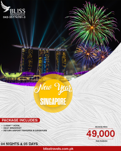 Singapore New Year Package
