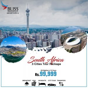 South Africa 3 Cities Tour Package