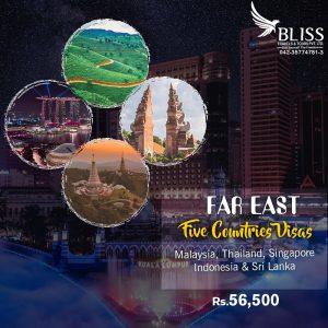 Far East 5 Countries Visa