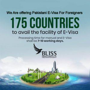 Pakistani E-visa for Foreigners