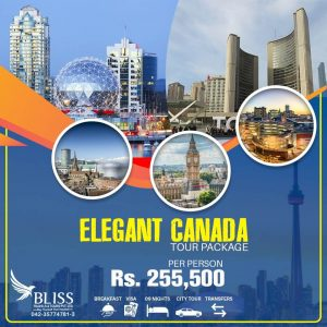 Elegant Canada Tour Package 2020