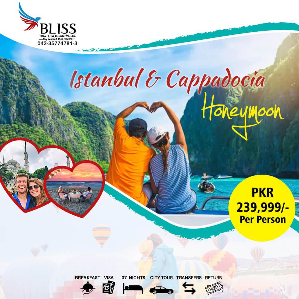 Istanbul-&-Cappadocia-Honeymoon-Package-2020