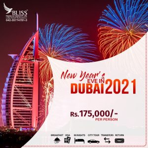 New Year's Eve In Dubai 2021