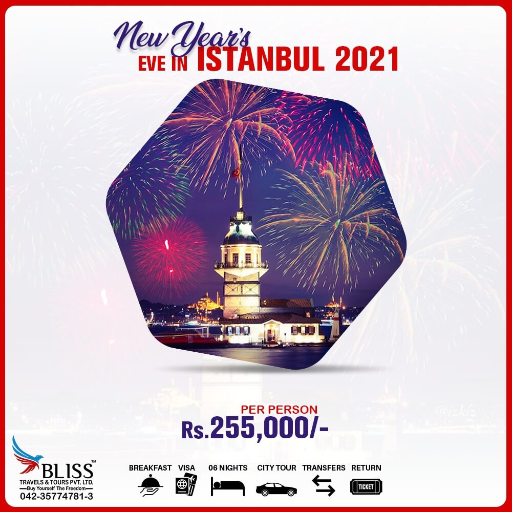 New Year's Eve In Istanbul 2021