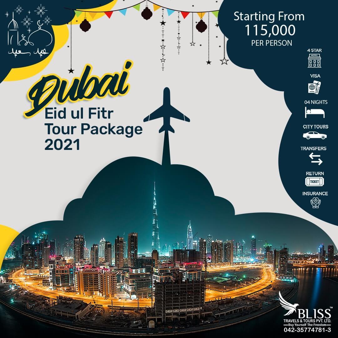 Dubai Eid Ul Fitr Tour Package 2021