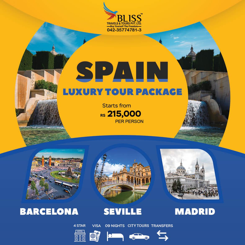 Spain-Luxury-Tour-Package