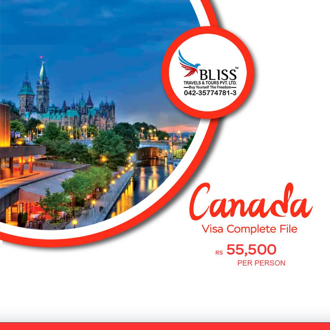 Canada-Visa-Complete-File-In-Just-PKR-55,500